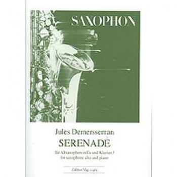 Serenade Opus 33 Alto Sax & Piano