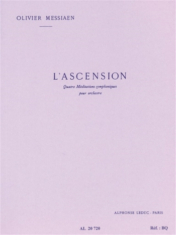 L'ascension, 4 Méditations Symphoniques (Orchestra)