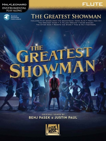 Instrumental Play-Along: The Greatest Showman: Flute Book With Audio-Online