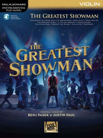Instrumental Play-Along: The Greatest Showman: Violin Book With Audio-Online