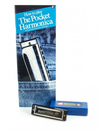 How To Play The Pocket Harmonica: Book & Harmonica