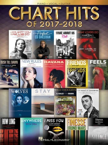 Chart Hits Of 2017-2018 Piano Vocal Guitar