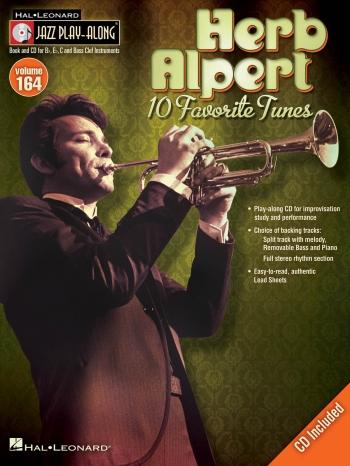 Jazz Play-Along Volume 164: Herb Alpert: Bb Or Eb Or C Instruments