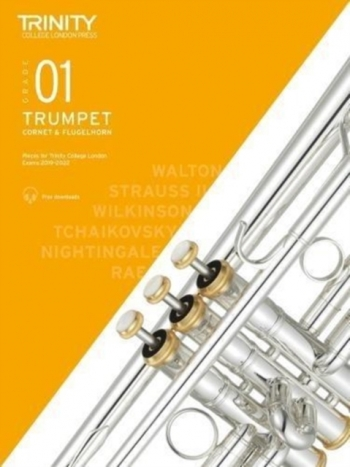 Trinity College London Trumpet, Cornet & Flugelhorn Exam Pieces 2019-2022 Grade 1