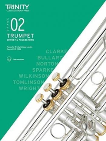 Trinity College London Trumpet, Cornet & Flugelhorn Exam Pieces 2019-2022 Grade 2