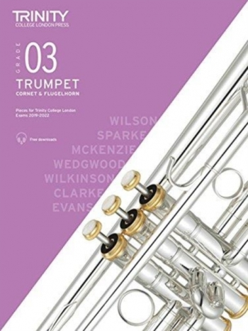 Trinity College London Trumpet, Cornet & Flugelhorn Exam Pieces 2019-2022 Grade 3