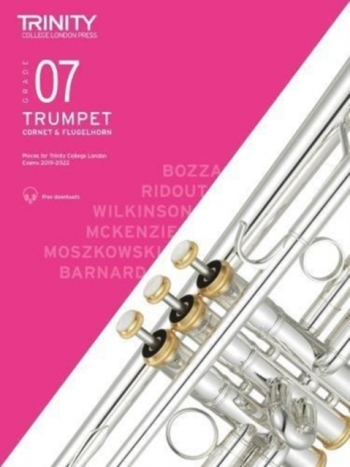 Trinity College London Trumpet, Cornet & Flugelhorn Exam Pieces 2019-2022 Grade 7