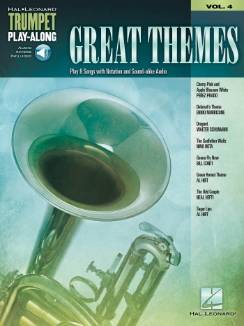 Great Themes: Trumpet Play-Along Volume 4 (Book/Online Audio)