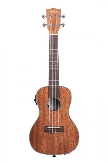 Kala KA-CGE Electro Acoustic Concert: Mahogany: Gloss Finish