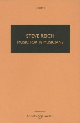 Music For 18 Musicians: Study Score (B&H)