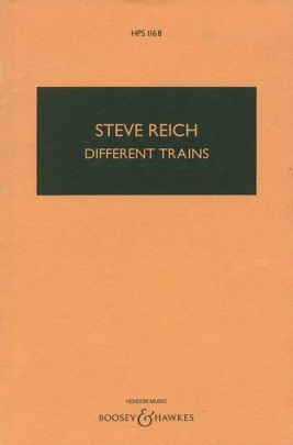 Different Trains: Study Score String Quartet (B&H)