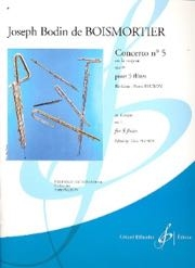 Concerto N° 5 En La Majeur Opus 15 For 5 Flutes