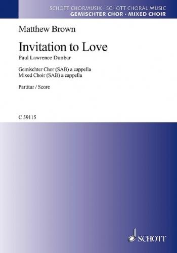 Invitation To Love: Vocal SAB (Brown)