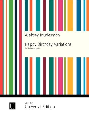 Happy Birthday Variations For Violin And Piano (Igudesman)