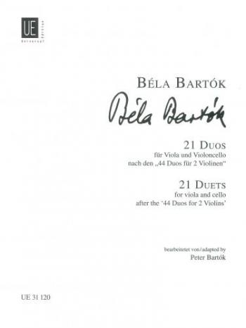 21 Duos Viola & Cello Duet (Universal)