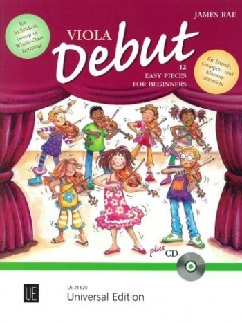 Viola Debut: 12 Easy Pieces For Beginners: Book & Cd