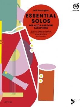 Essential Solos For Alto & Baritone Saxophone: Book & Cd