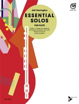 Essential Solos For Flute: Book & Cd