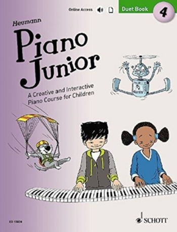 Piano Junior Duet Book 4: Creative And Interactive Piano Course