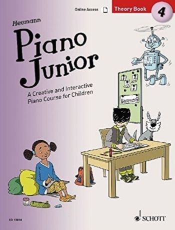 Piano Junior Theory Book 4: Creative And Interactive Piano Course