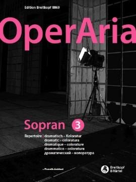 OperAria Soprano 3 Book & Recording Voice & Piano (Breitkopf)