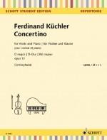 Concertino D Op.12: Violin & Piano (Schott)