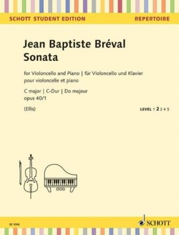 Sonata C Major Op.40/1: Cello & Piano (Schott)