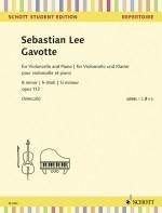 Gavotte B Minor Op.112: Cello & Piano (Schott)