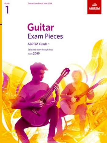 ABRSM Guitar Exam Pieces From 2019 Grade 1 - Book