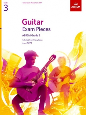 ABRSM Guitar Exam Pieces From 2019 Grade 3 - Book