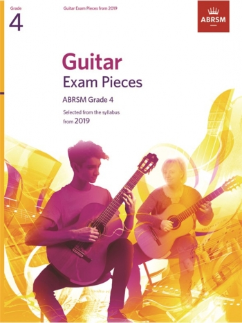 ABRSM Guitar Exam Pieces From 2019 Grade 4 - Book