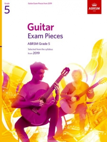 ABRSM Guitar Exam Pieces From 2019 Grade 5 - Book