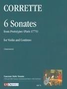 6 Sonatas From Prototypes: Violin & Piano