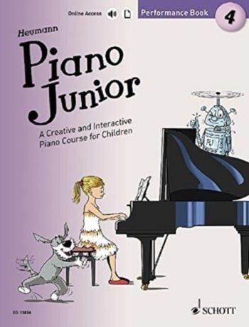 Piano Junior Performance Book 4: Creative And Interactive Piano Course