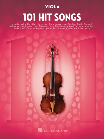101 Hit Songs For Viola Solo