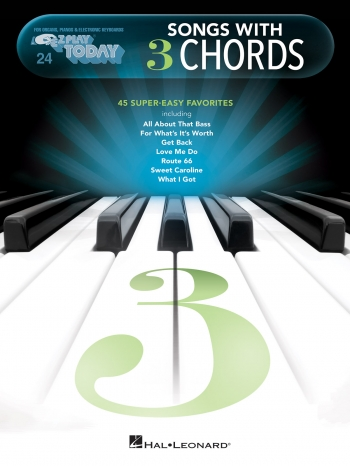 EZ Play Today Songs With 3 Chords: Keyboard EZ Play 24