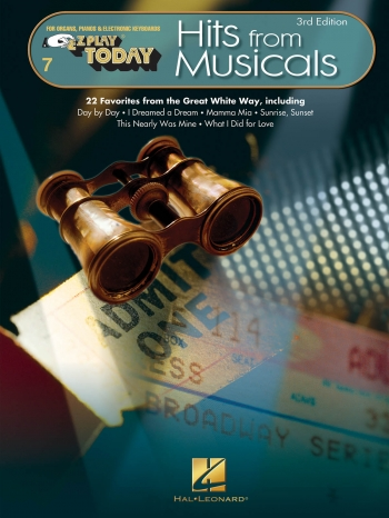 EZ Play Hits From Musicals 3rd Ed: Keyboard EZ Play 7