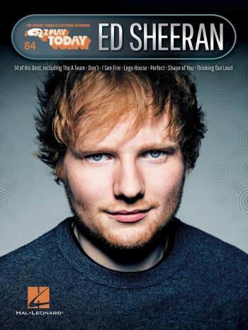 EZ Play Today Ed Sheeran: Keyboard EZ Play 84