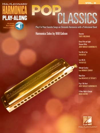 Harmonica Play-Along Volume 8: Pop Classics