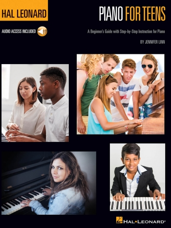 Hal Leonard Piano For Teens Method: Book & Audio