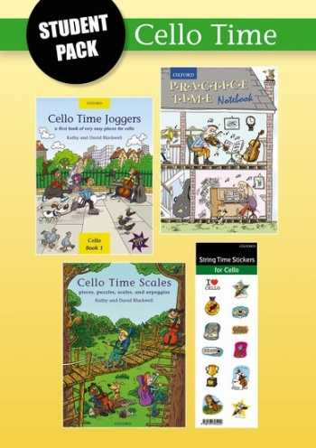 Cello Time Joggers Student Pack