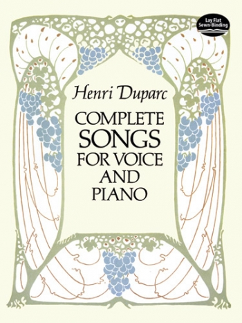 Complete Songs For Voice And Piano (Dover)