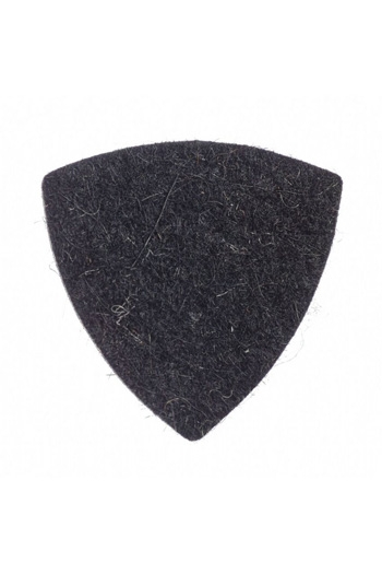 Ukulele Plectrum: Felt Tones Gypsy Black Wool Felt