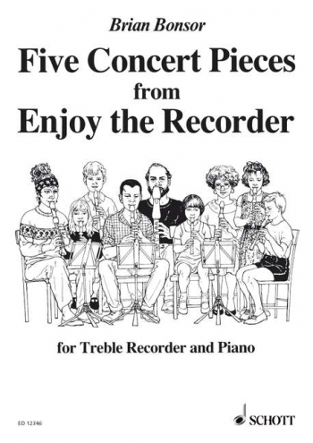 5 Concert Pieces: Treble Recorder Part