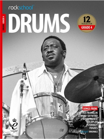Rockschool: Drums Grade 4 2018+ (Book/Audio)
