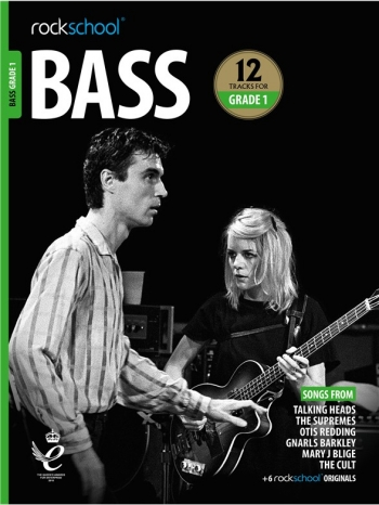 Rockschool: Bass Grade 1 2018+ (Book/Audio)