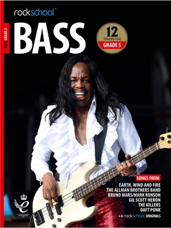 Rockschool: Bass Grade 5 2018+ (Book/Audio)