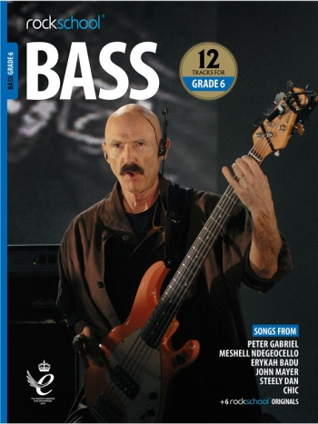 Rockschool: Bass Grade 6 2018+ (Book/Audio)