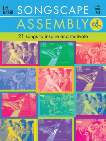 Songscape Assembly: 21 Songs To Inspire And Motivate Book & CD (Lin Marsh