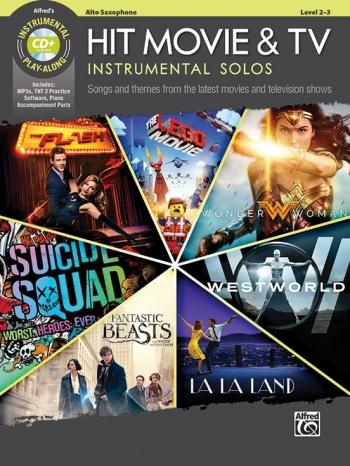 Hit Movie & TV Instrumental Solos For Alto Sax Book & Cd